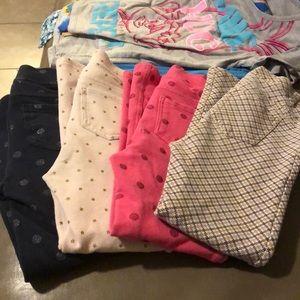 4 pr. Little girl's leggings